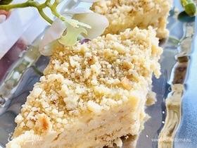 Жареный торт со сливочным кремом «Пломбир»