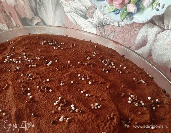 Шоколадный тирамису от Карима Буржи