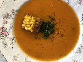 Томатный суп с кукурузой by Alekseev