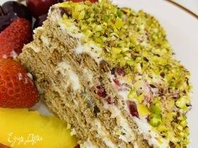 Летний торт без выпекания