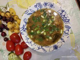 Мисо-суп с грибами эноки