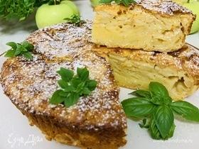 Яблочный пирог с нотками лимона