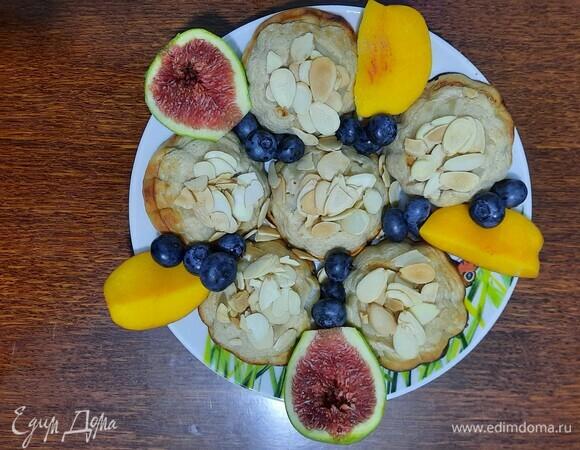 Творожные кексы с яблоком и корицей