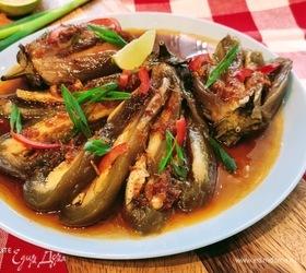 Азиатский салат из баклажанов