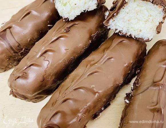 Шоколадные батончики «Баунти»