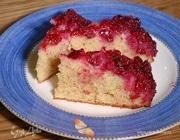 Вишневый пирог-перевертыш