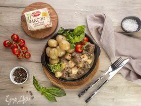 Рагу из говядины с картошкой