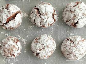 Мраморное печенье с фундуком и шоколадом