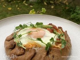 Ржаная галета на завтрак