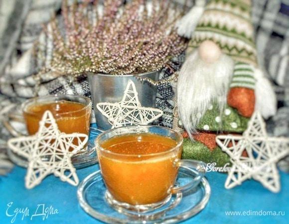 Имбирно-облепиховый напиток с медом