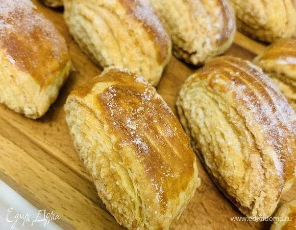 Слоеное печенье с начинкой