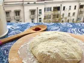 Тесто для пиццы без замеса
