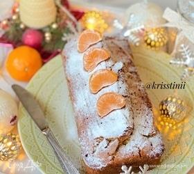 Апельсиновый пирог с кукурузной мукой