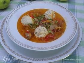 Грибной суп по-калочайски