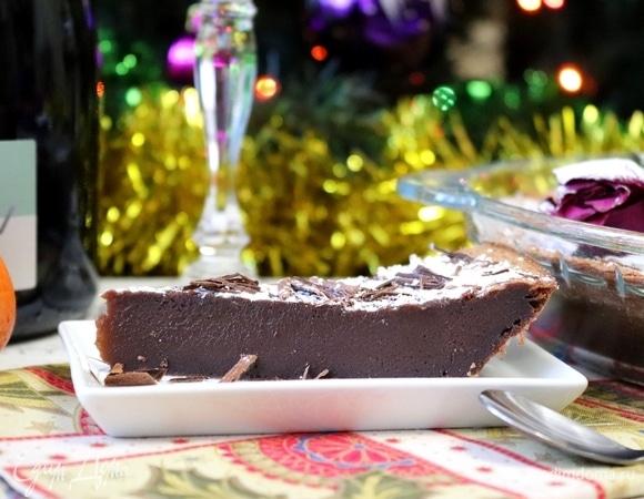 Шоколадный торт-помадка «Балуа» (Baulois)