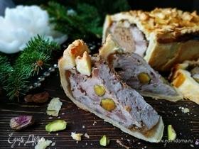 Рождественский мясной пирог