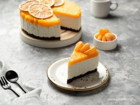 Творожный чизкейк с мандаринами