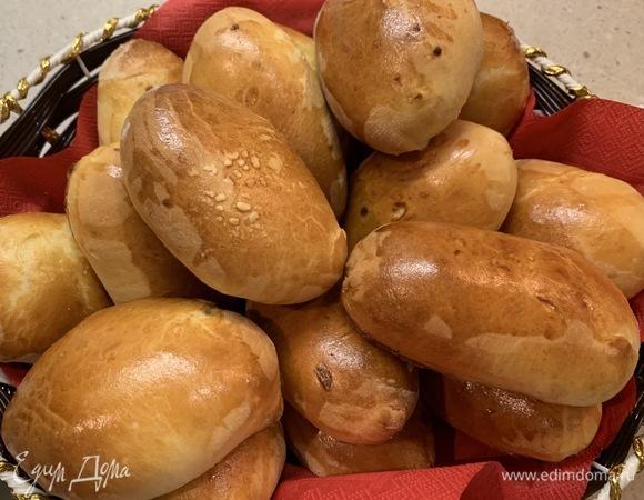 Домашние пирожки с капустой и грибами