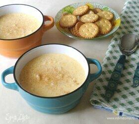Молочная рисовая каша с тыквой