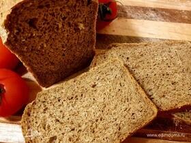 Пшенично-ржаной хлеб с гречневой мукой