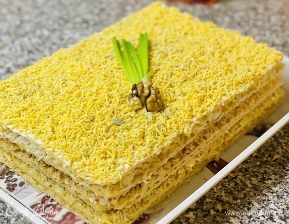 Салат-торт «Мимоза»