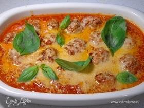 Классические митболы в томатном соусе