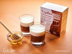 Двухслойный молочно-шоколадный десерт