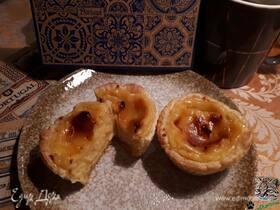 Апельсиновые pasteis de nata