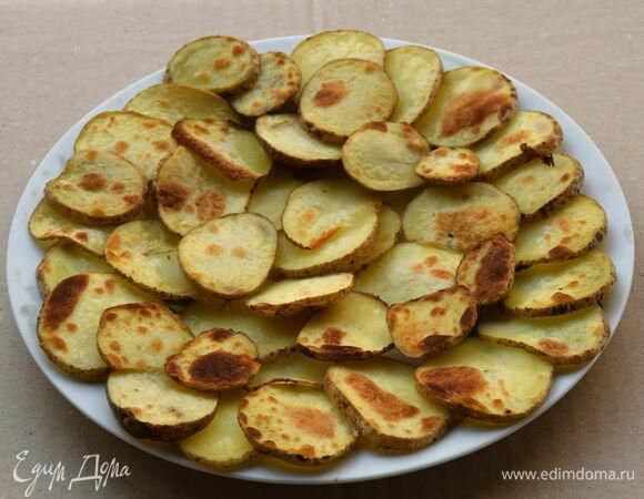 Рецепт картофеля гриль в духовке