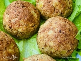 Польпетте из картофеля и консервированного тунца