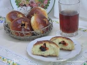 Кефирно-дрожжевые булочки