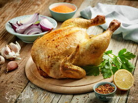 Рецепт курицы гриль на вертеле в духовке