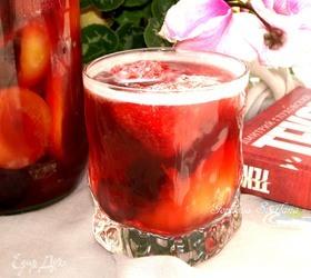 Фруктовая сангрия с вишневым пивом