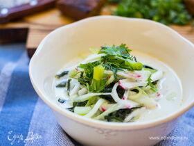 Рецепт классической овощной окрошки