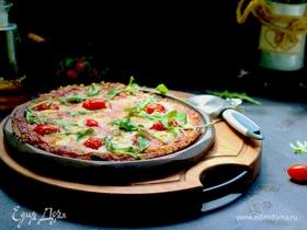 Низкоуглеводная пицца на основе из брокколи