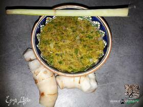 Тайская зеленая паста карри