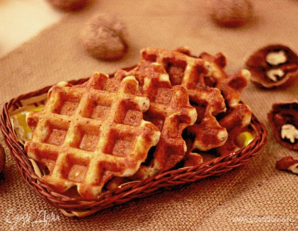 Ореховые вафли