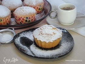 Ванильно-сливочные кексы