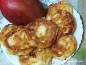 Сырники с манго