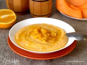 Манная каша с тыквой и апельсином
