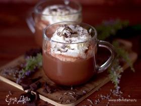 Какао с лавандой