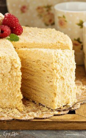Готовим торт «Наполеон»